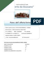 POF scuola secondaria di I° grado Alberto da Giussano 13-14
