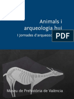 Animals i Arqueologia Hui 2013