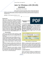 Researchpaper OFDM Modulator for Wireless LAN WLAN Standard