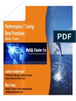 MySQL Nov 3 Cluster PerfTuning
