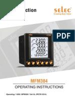 Multifunction Meter MFM384 Operating1