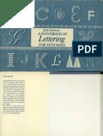 Handbook of Lettering
