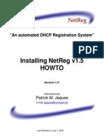 NetReg 1.5.1 HowTo
