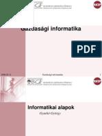Ginf 2. 5 Alfejezet - Informatikai Alapok