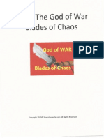 Blades of Chaos Template