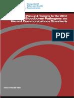 OSHA 3186 - Bloodborne Pathogens