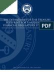 Treasury Department Financial Regulatory Reform Blueprint (2008)