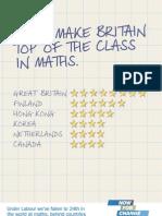Maths Under Labour