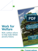 Welfare Policy Paper