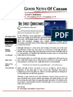 Canaan Baptist Church Newsletter  December 2013