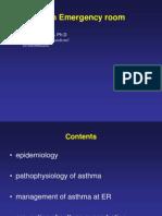 Asthma in ER