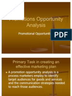 35398795 Promotions Opportunity Analysis Ppt Integrated Marketing Communication