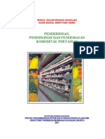 Pengeringan, Pendinginan Dan Pengemasan Komoditas Pertanian
