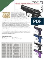 Witness PAVONA Polymer Pistol