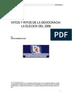 Mitos y Ritos de La Democracia