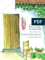 Guia Manejo Biodiversidad Agricola Huerta Mediterranea