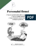 Personalul firmei