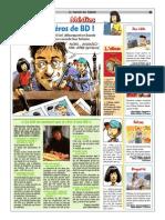 Article dans le journal des enfants