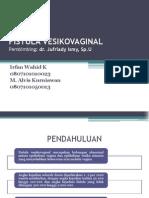 Fistula Vesikovaginal