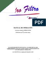 Hidrofiltro Manual