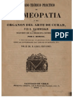 Tratado Teórico Práctico de Homeopatía. El Horganón del Arte de Curar