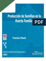 Produccion de Semillas en La Huerta