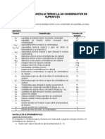 Calculul Bilantului Termic La Un Condensator de Suprafata (1)