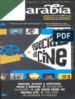 Diccionario de términos cinematográficos algarabia