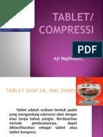 cara pembuatan tablet dengan 3 tahap