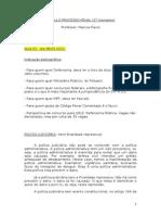 1o Momento Processo Penal Marcos Paulo 2012