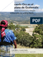 Buscando Oro en El Altiplano de Guatemala