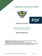Regras Oficiais-modalidade Bola 12 Toques-edio 2012v1