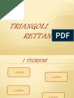 Trigonometria Triangoli Rettangoli