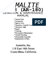Firearms - Manual - Armalite Ar-18 (Ar-180) Assault Rifle
