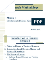 Research Methodology - Module I mba 1st year