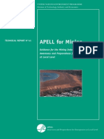 APELL for Mining