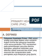 Primary Health Care (Phc2)