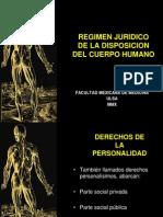 13-Régimen jurídico de la disposición del cuerpo humano