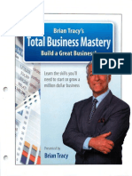 Total Business Mastery Workbook - Brian Tracy