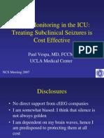 Eeg Monitoring in the Icu