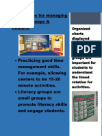 Techniques for Managing Literacy Groups
