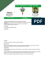 preparación de partido de competición de un e prof 2008 (ft)
