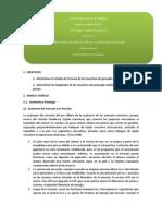 Primer Informe de Tecnologia e Industrias Pesqueros