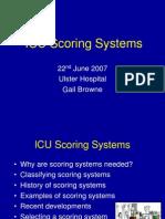 ICU Scoring Systems