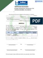 027-12 Certificado de TIC VF