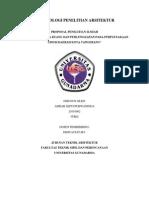 Kajian Pola Tata Ruang Dan Perlengkapan Pada Perpustakaan Umum Kota Tangerang