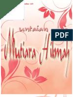 Unaian Mutiara HIkmah vol 3/I
