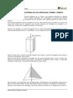 Geología - Propiedades físicas minerales - La_forma y el habito