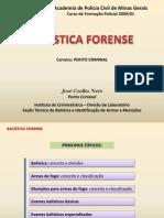 Balística Forense - Perito Criminal