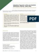 Camacho - Estrés Térmico en Trabajadores Expuestos al Área de Fundición en una Empresa Metalmecánica, Mariara 2004-2005